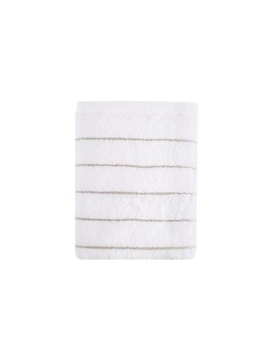 İrya Wendy Mıcrocotton Havlu Beyaz-Bej 70*130 Bej